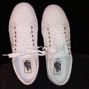 White VANS Size 9 (Men's Size Listing)